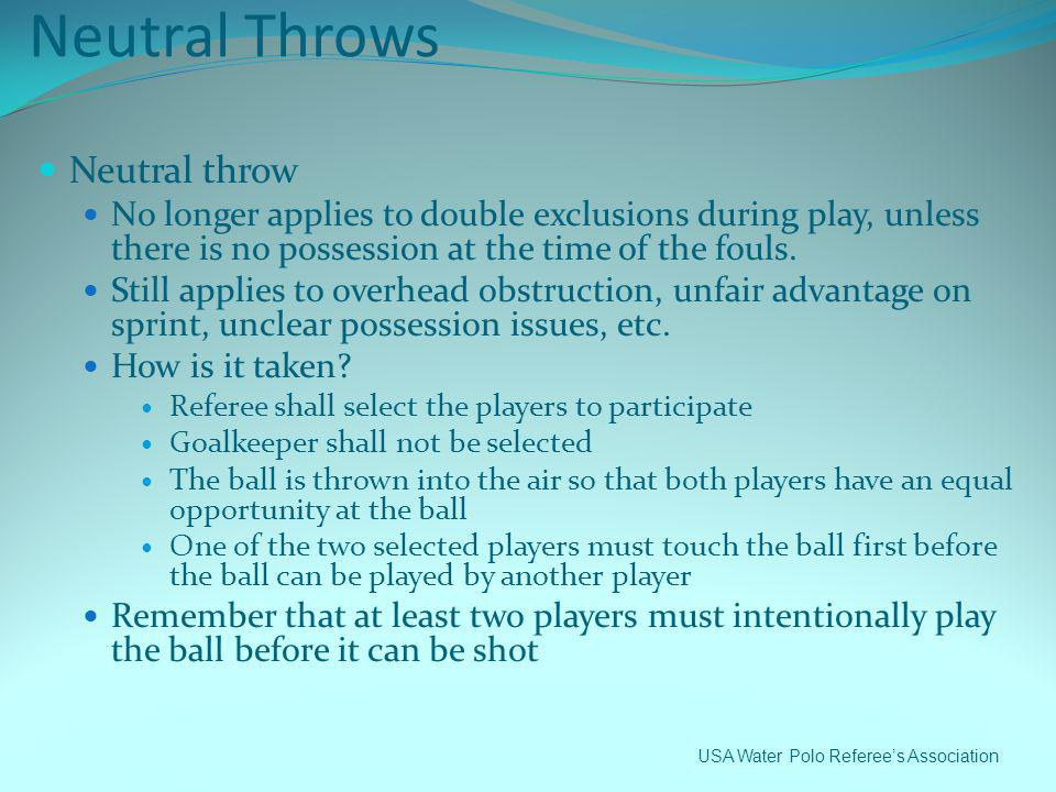 Neutral Throws Neutral throw