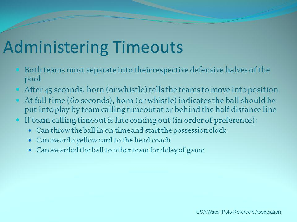 Administering Timeouts