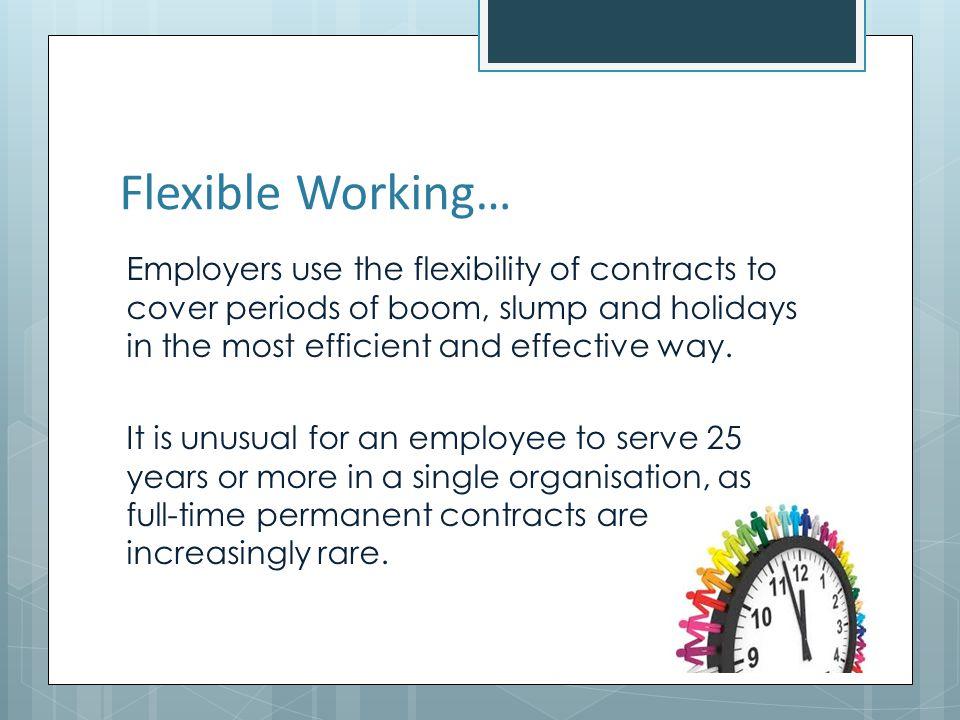 Flexible Working…
