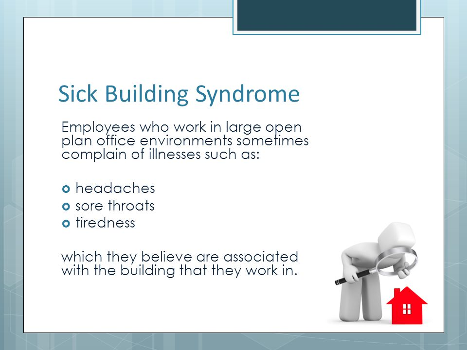 Sick Building Syndrome