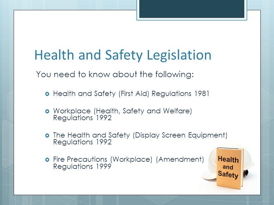 Health Food Safety Regulations