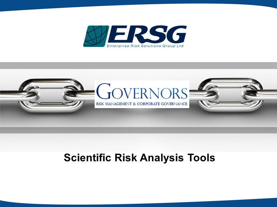 Scientific Risk Analysis Tools