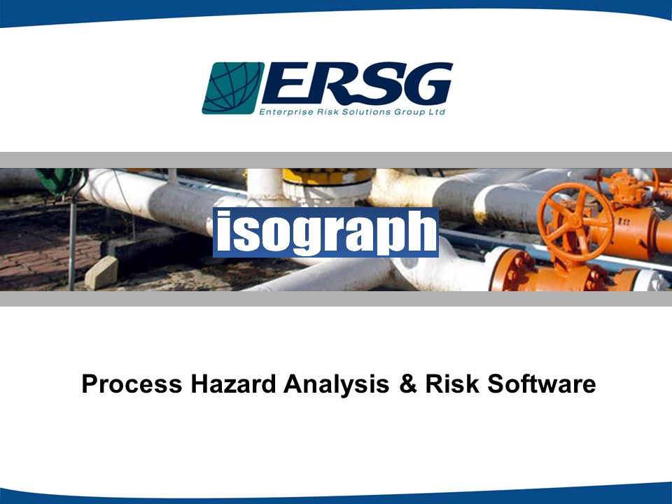 Process Hazard Analysis & Risk Software