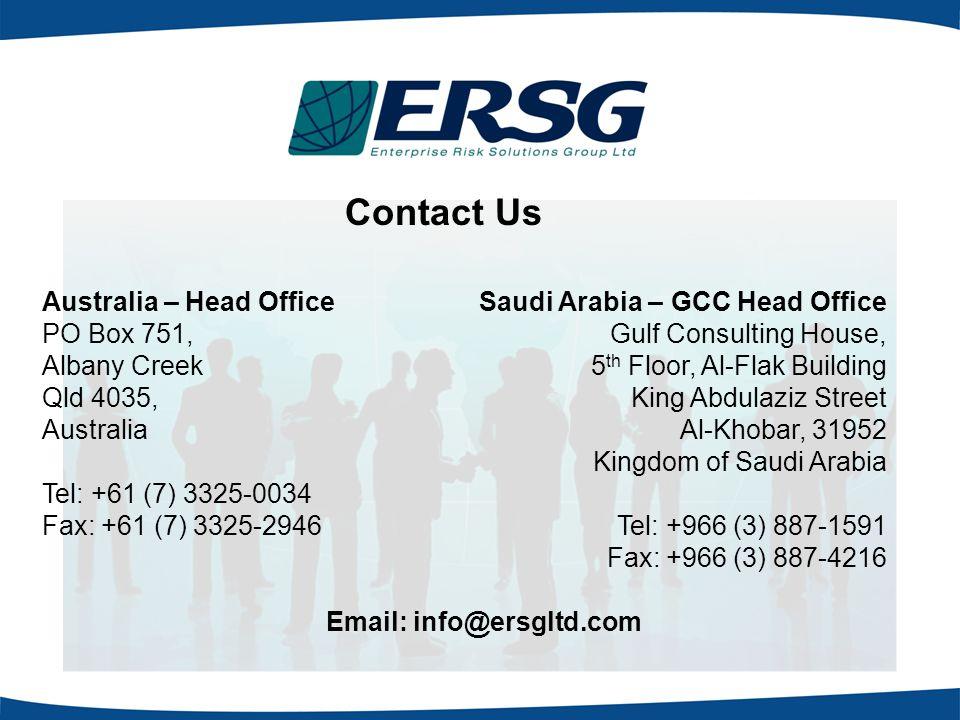 Contact Us Australia – Head Office PO Box 751, Albany Creek Qld 4035,