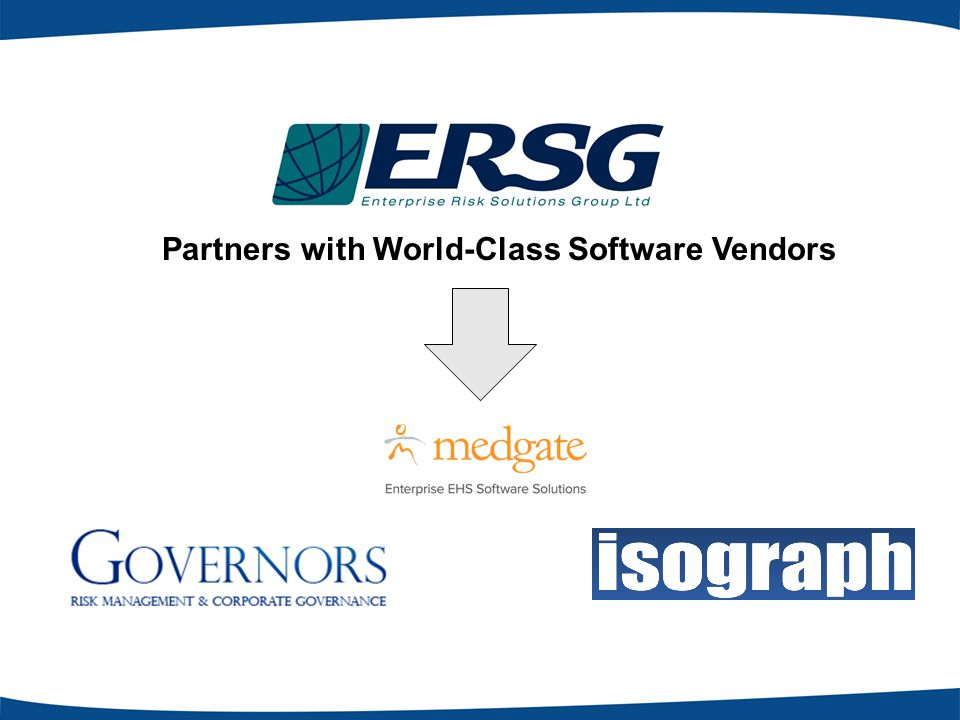 Partners with World-Class Software Vendors
