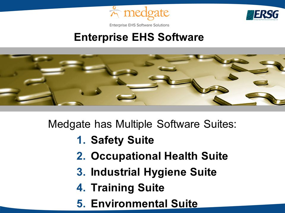 Enterprise EHS Software