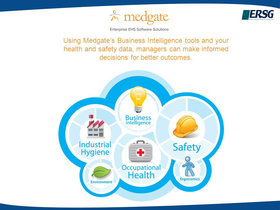 Using Medgate's Business Intelligence tools and your health and safety data, managers can make informed decisions for better outcomes.