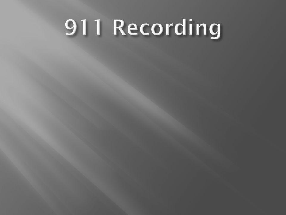 911 Recording