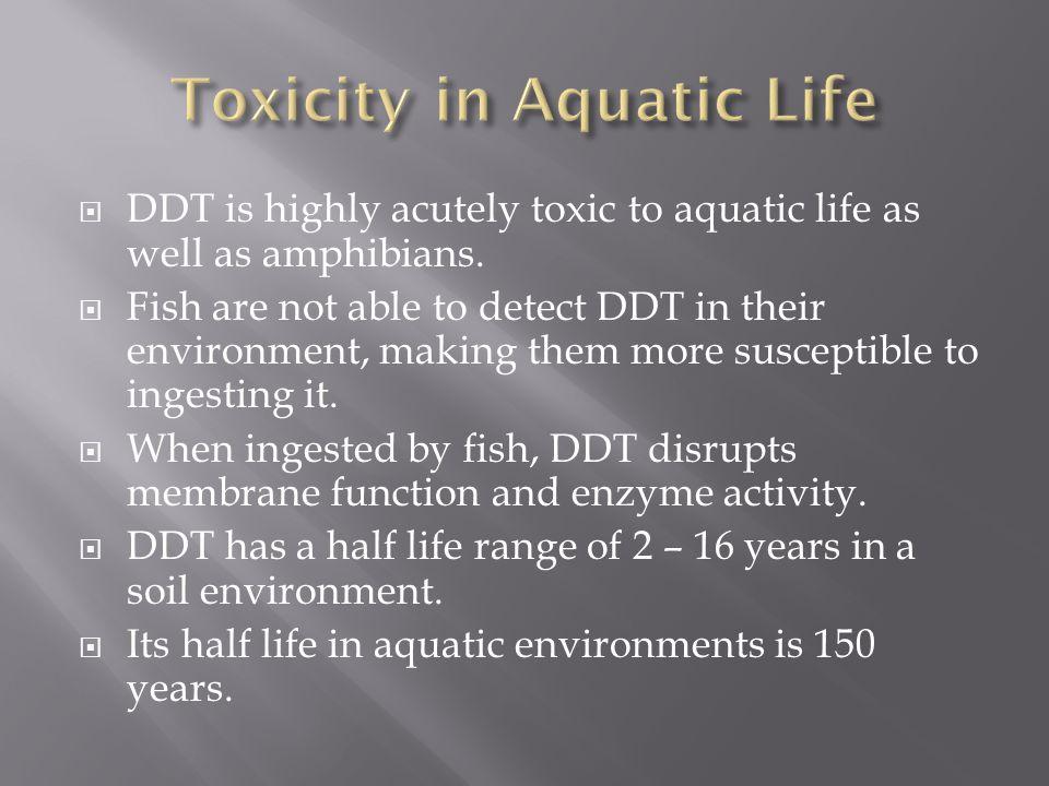 Toxicity in Aquatic Life