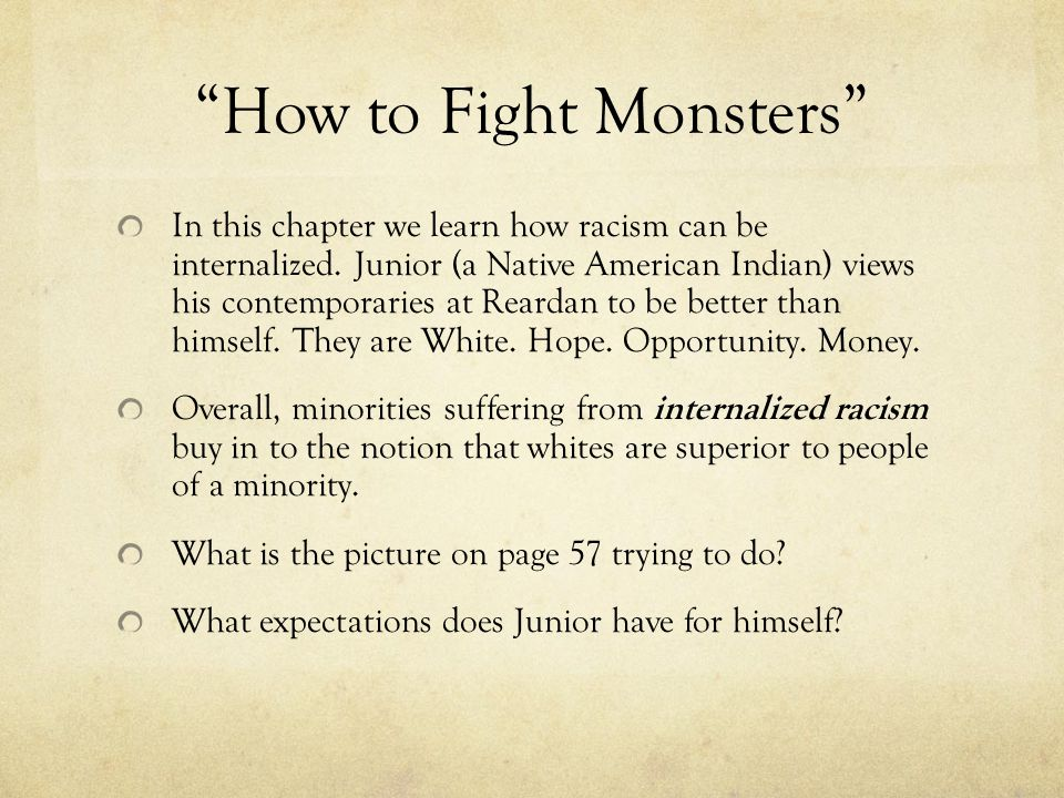 How to Fight Monsters
