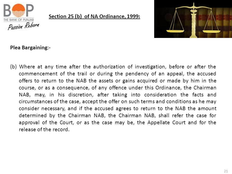 Section 25 (b) of NA Ordinance, 1999: