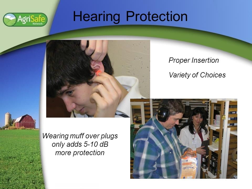 Wearing muff over plugs only adds 5-10 dB more protection