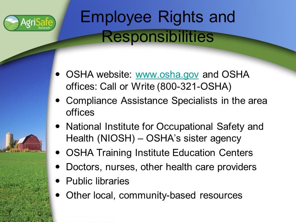 Employee Rights and Responsibilities
