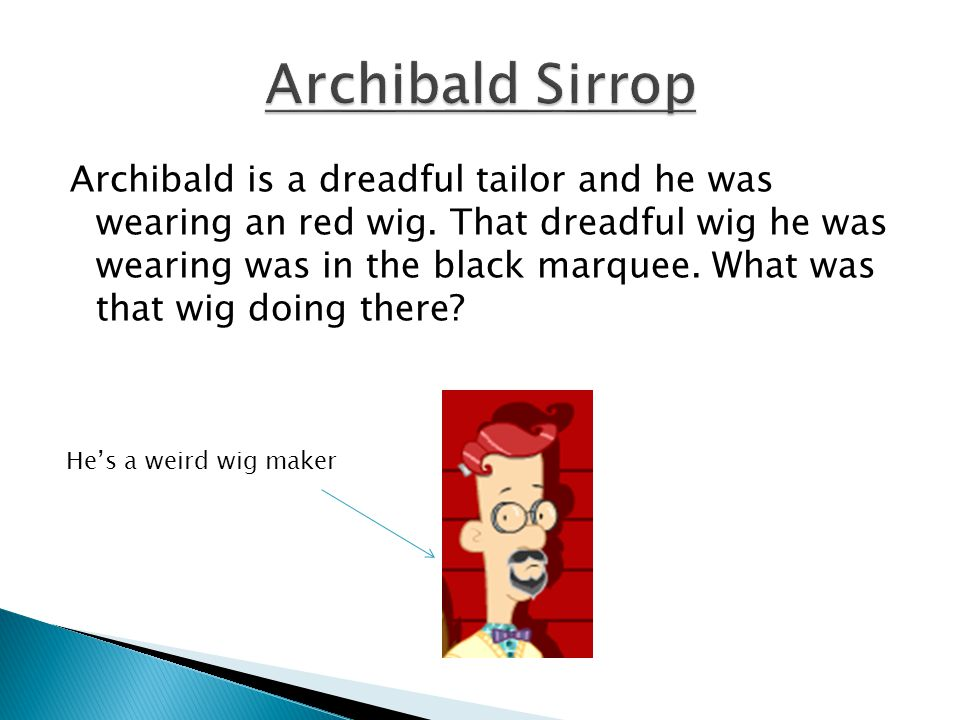 Archibald Sirrop