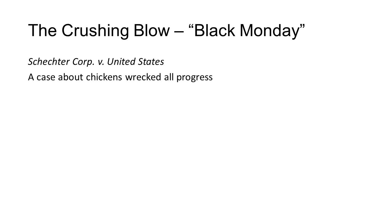 The Crushing Blow – Black Monday
