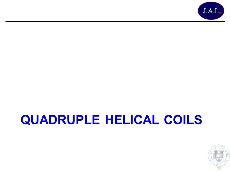QUADRUPLE Helical Coils