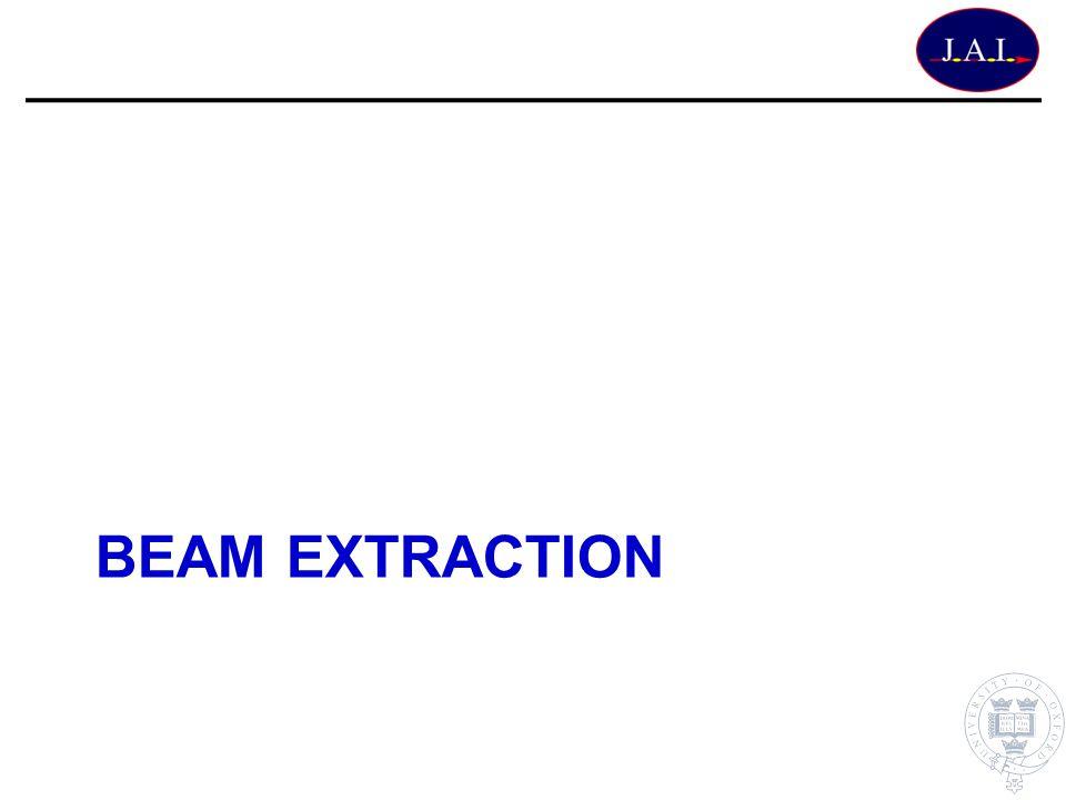 BEAM EXTRACTION