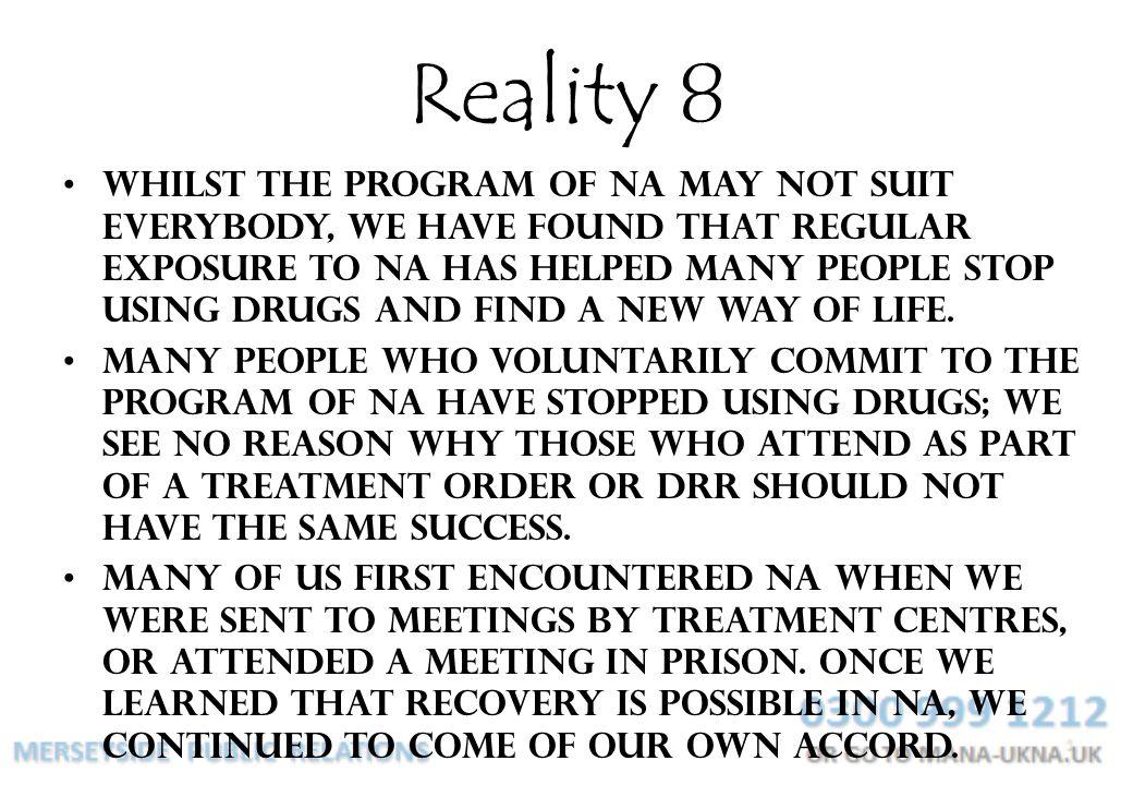 Reality 8