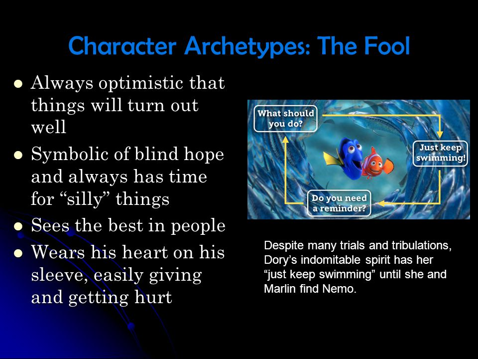 Character Archetypes: The Fool