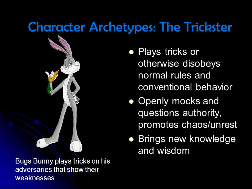 Character Archetypes: The Trickster