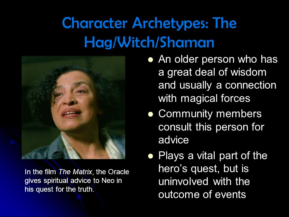 Character Archetypes: The Hag/Witch/Shaman