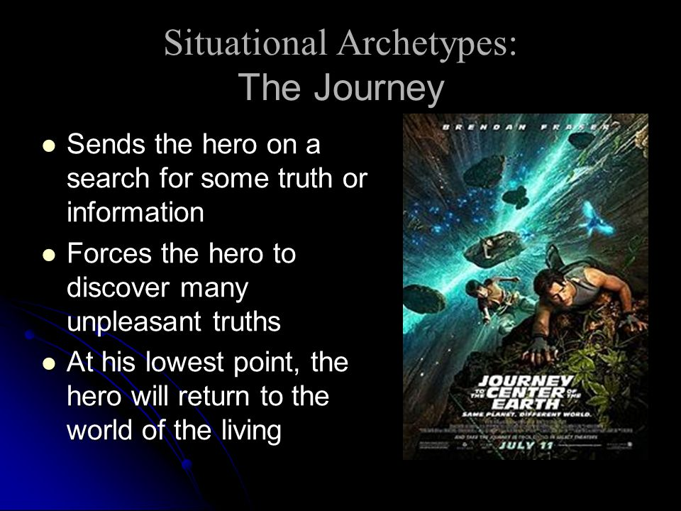 Situational Archetypes: The Journey