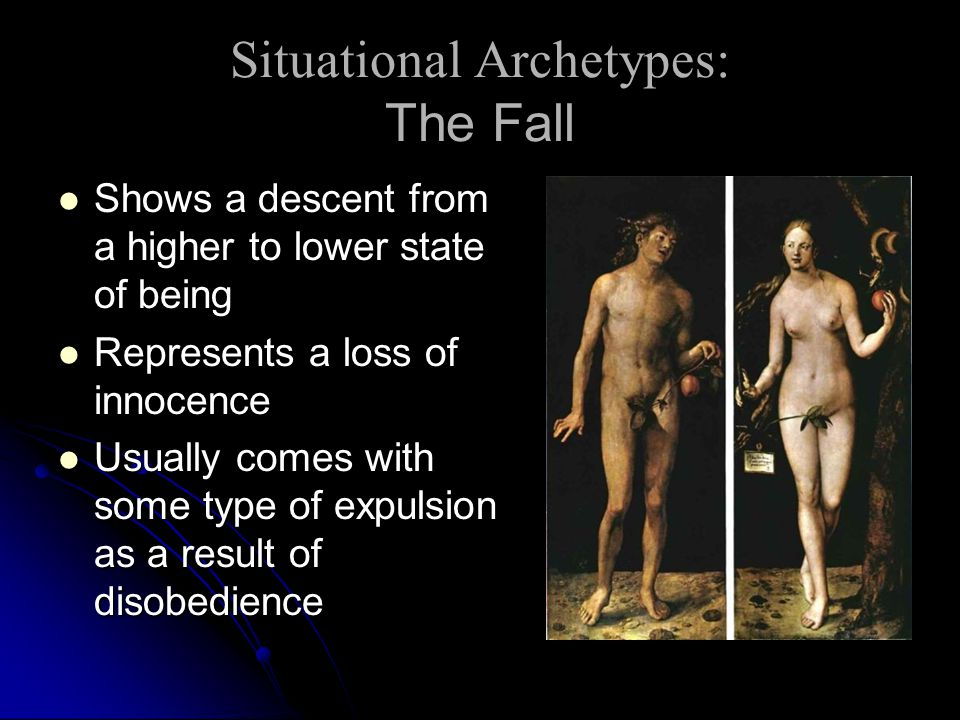 Situational Archetypes: The Fall