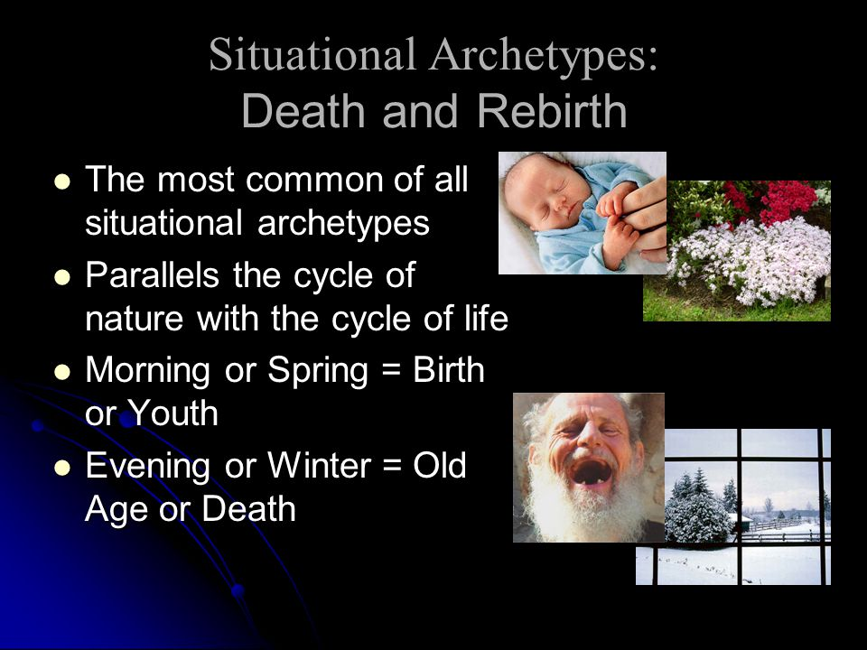 Situational Archetypes: Death and Rebirth