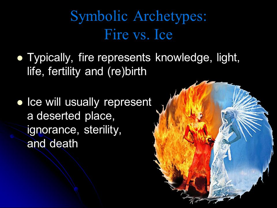 Symbolic Archetypes: Fire vs. Ice