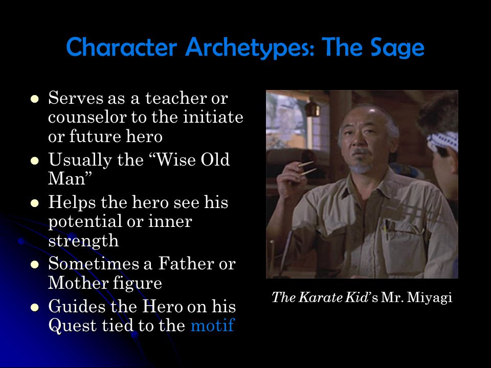 Character Archetypes: The Sage