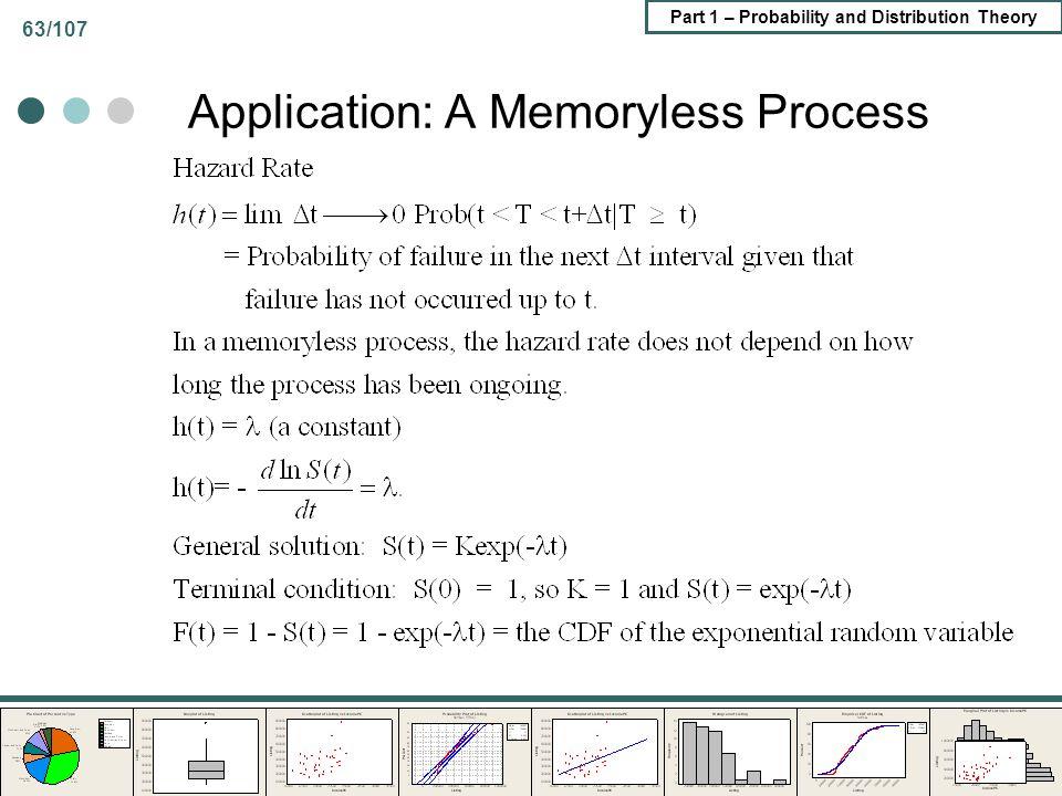 Application: A Memoryless Process