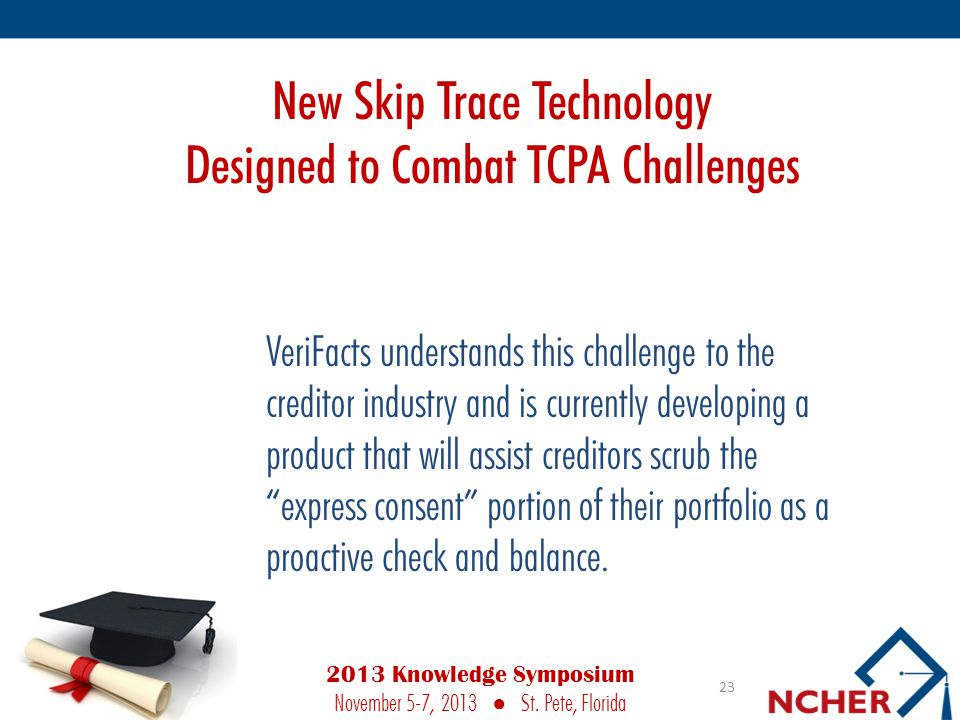 New Skip Trace Technology Designed to Combat TCPA Challenges