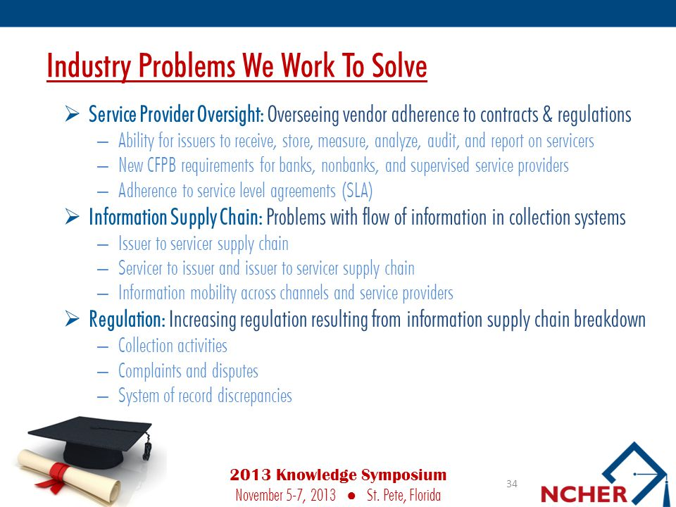Industry Problems We Work To Solve