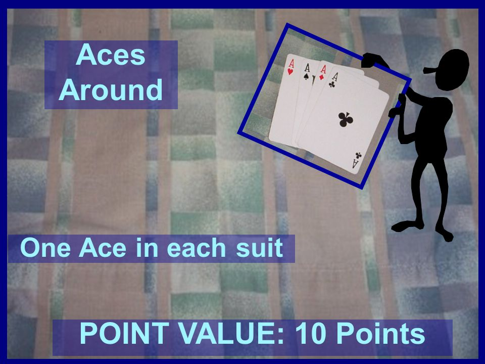 Aces Around POINT VALUE: 10 Points