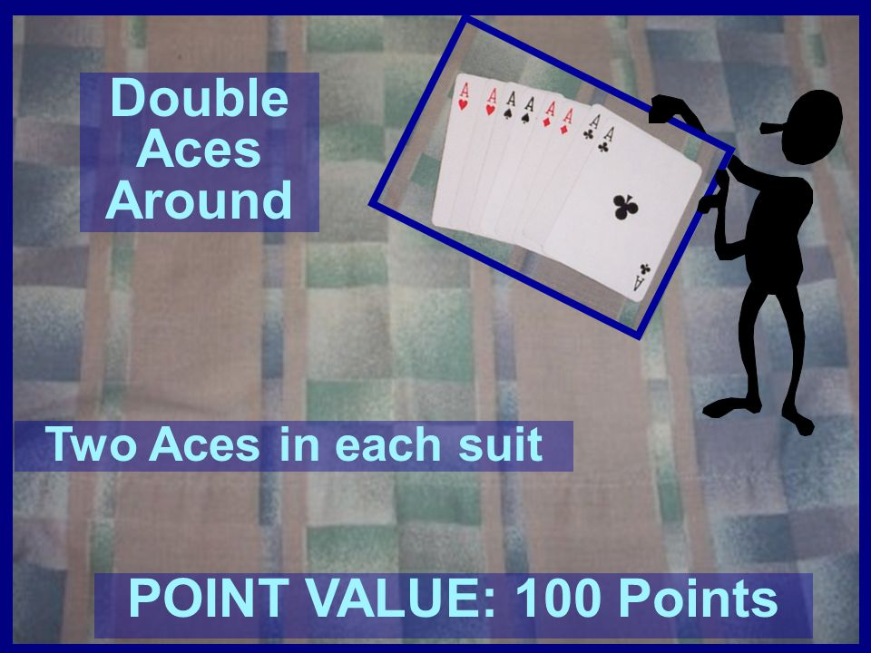 Double Aces Around POINT VALUE: 100 Points