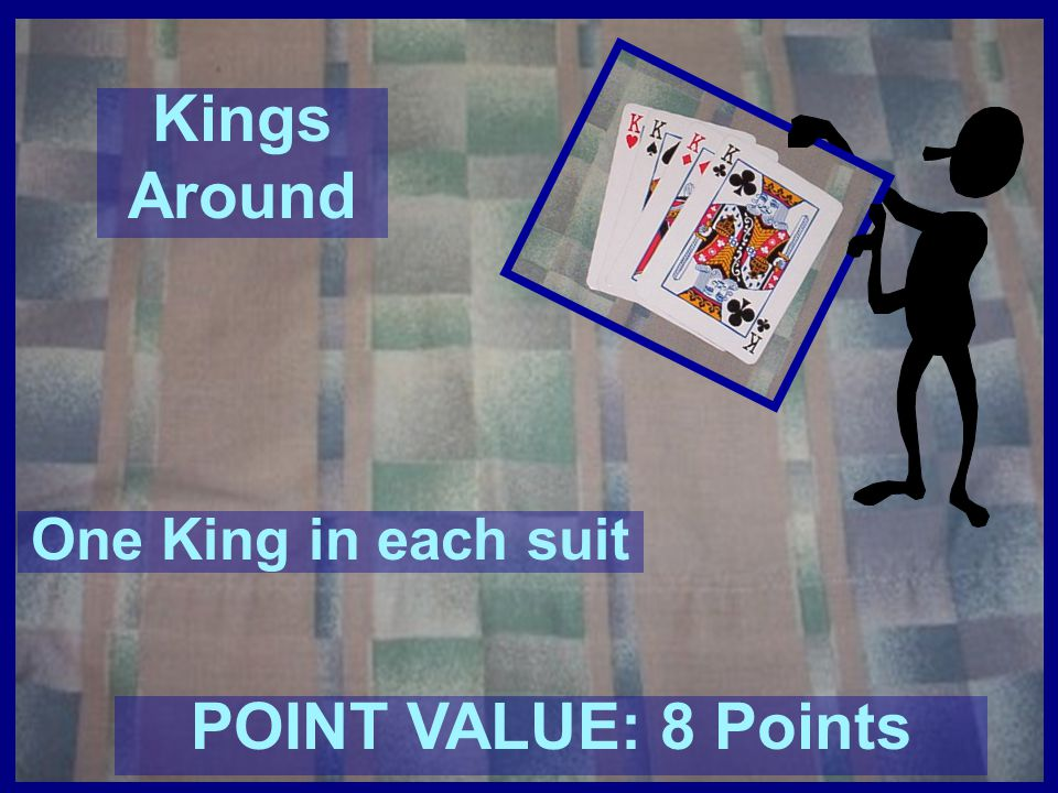 Kings Around POINT VALUE: 8 Points