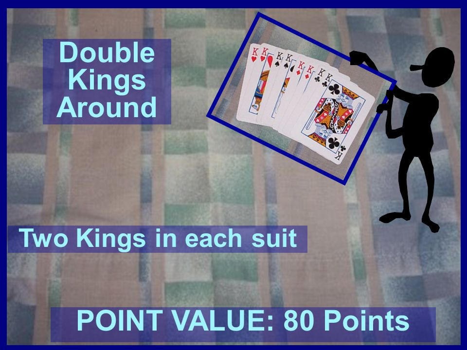 Double Kings Around POINT VALUE: 80 Points