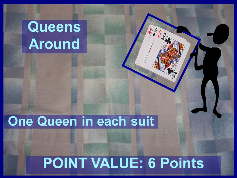 Queens Around POINT VALUE: 6 Points