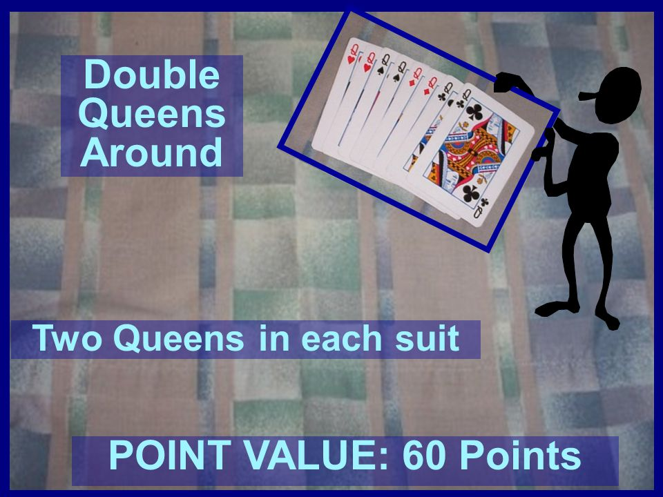 Double Queens Around POINT VALUE: 60 Points