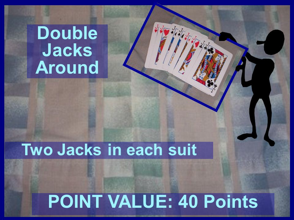 Double Jacks Around POINT VALUE: 40 Points