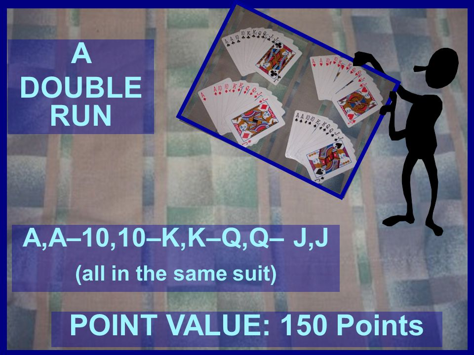 A DOUBLE RUN POINT VALUE: 150 Points