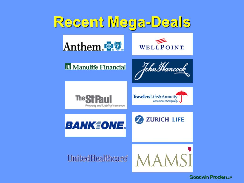 Recent Mega-Deals