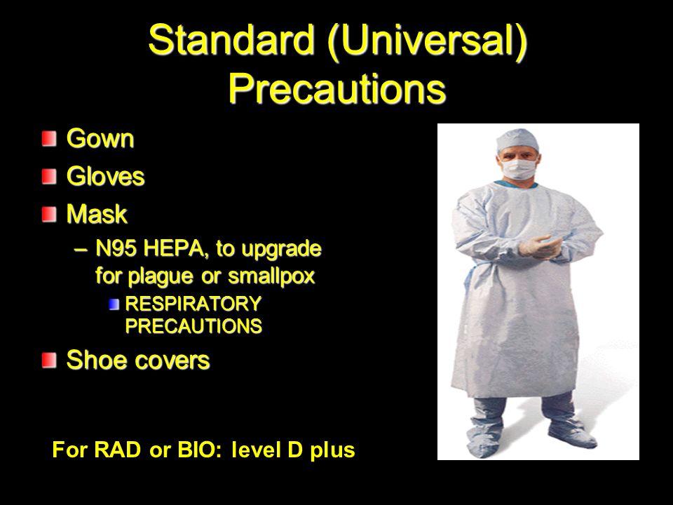 Standard (Universal) Precautions