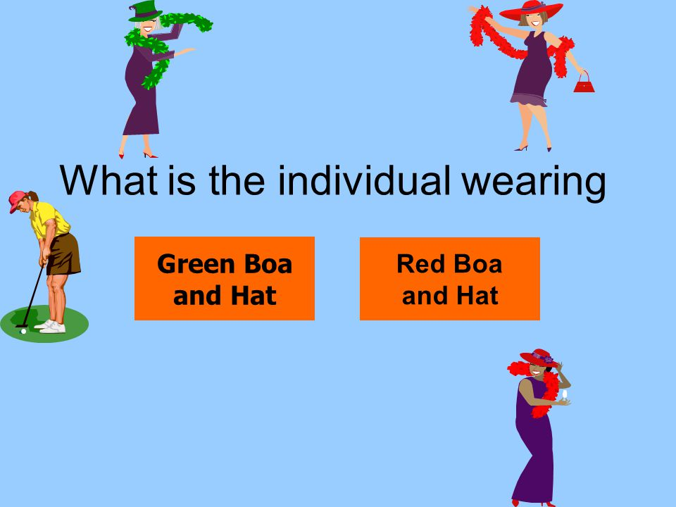 What is the individual wearing
