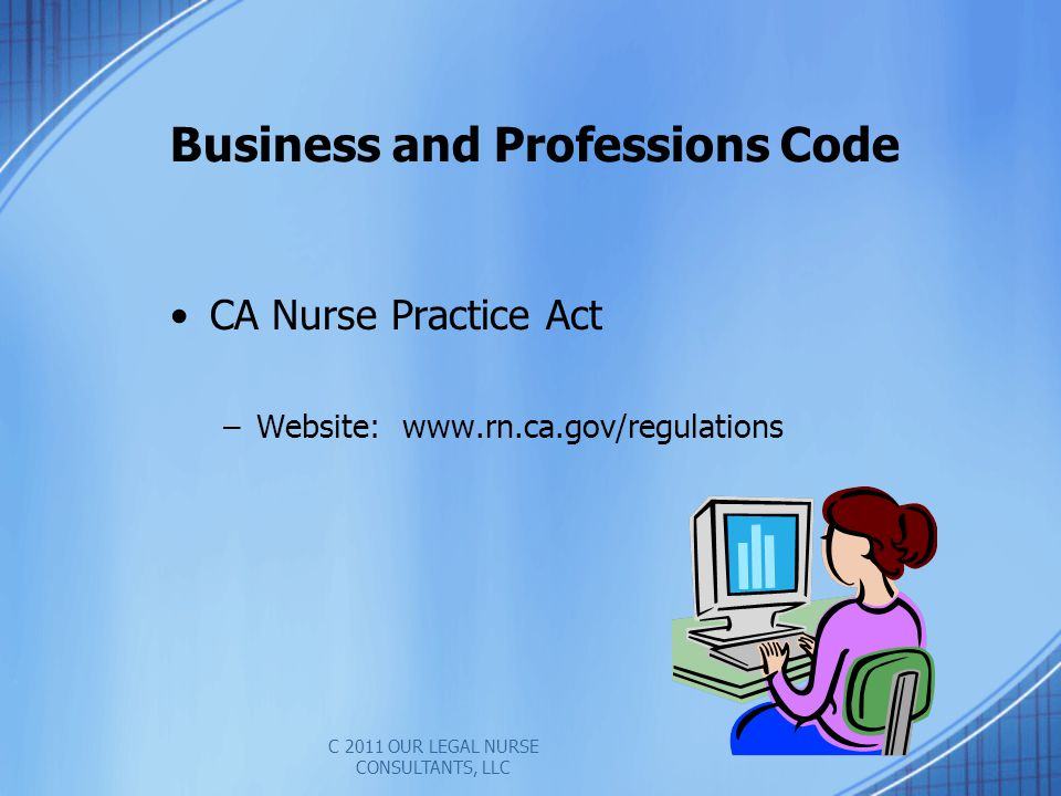 Business and Professions Code