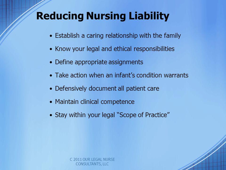 Reducing Nursing Liability