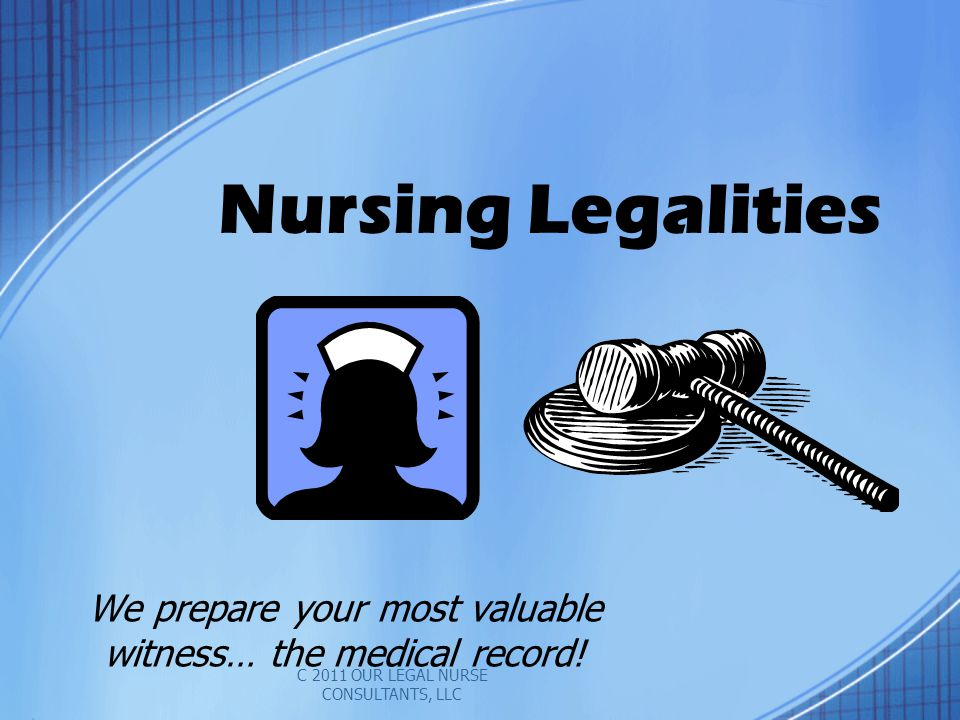 We prepare your most valuable witness… the medical record!