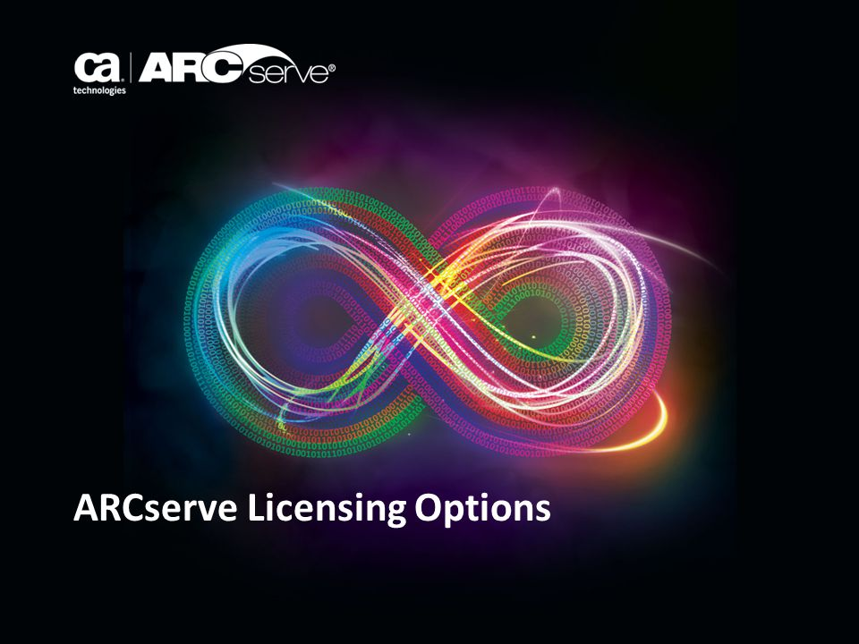 ARCserve Licensing Options