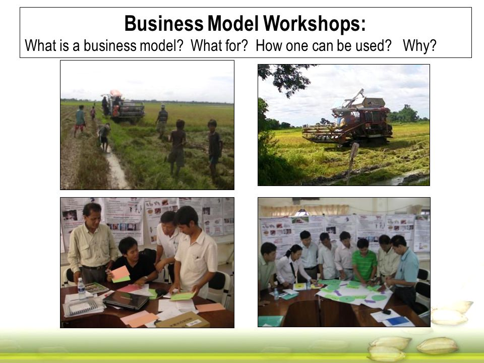 Business Model Workshops: