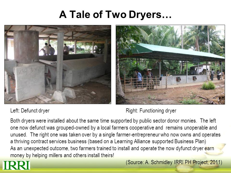 A Tale of Two Dryers…